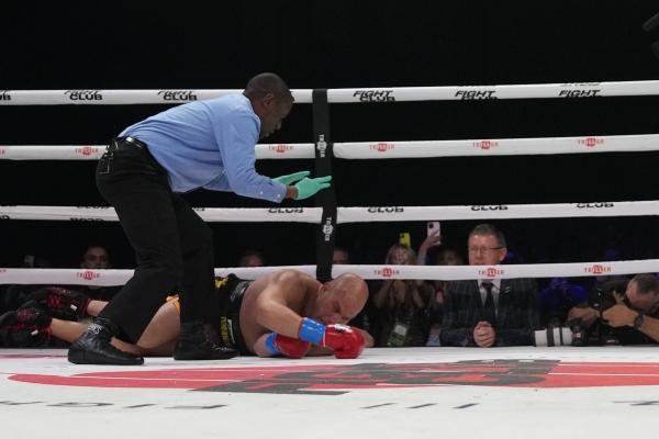 Belfort vs. Evander / zdroj foto: Triller