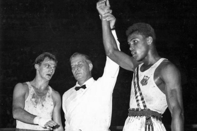 Zbigniew Pietrzykowski vs. Cassius Clay