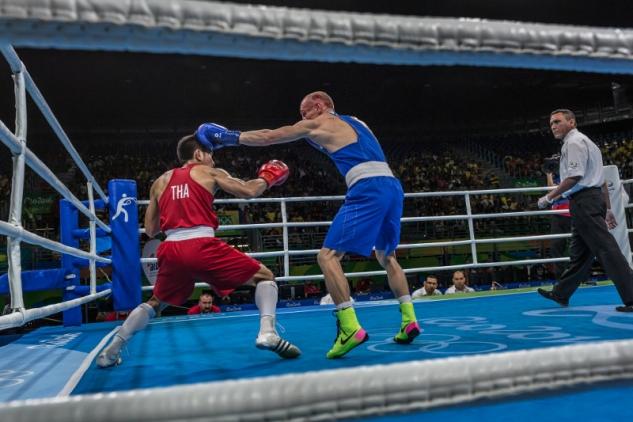 Olympijský box a profíci v něm