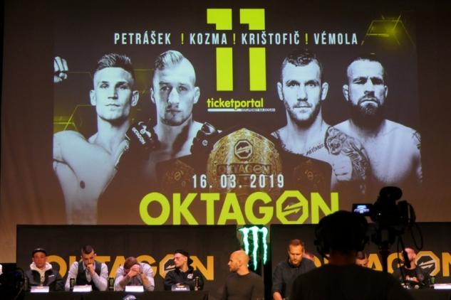 Oktagon PrimeTime tiskovka / zdroj foto: Oktagon MMA