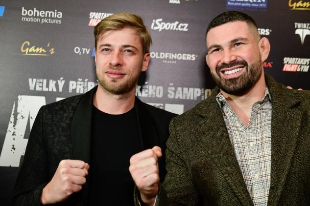Petr Větrovský a Attila Végh / zdroj foto: VDN