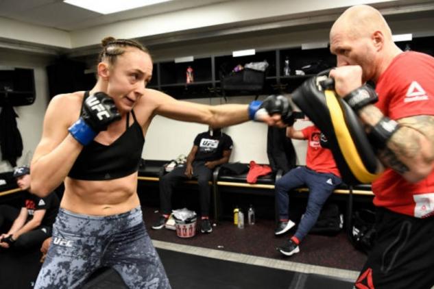 Pudilová vs Kishová / zdroj foto: UFC