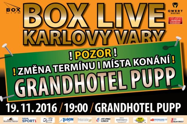 Změna místa Box Live