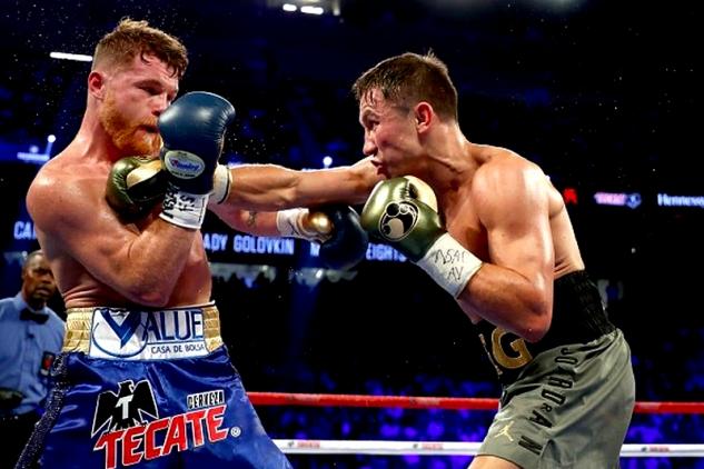GGG vs. Canelo / zdroj foto: Boxingscene.com, Golden Boy