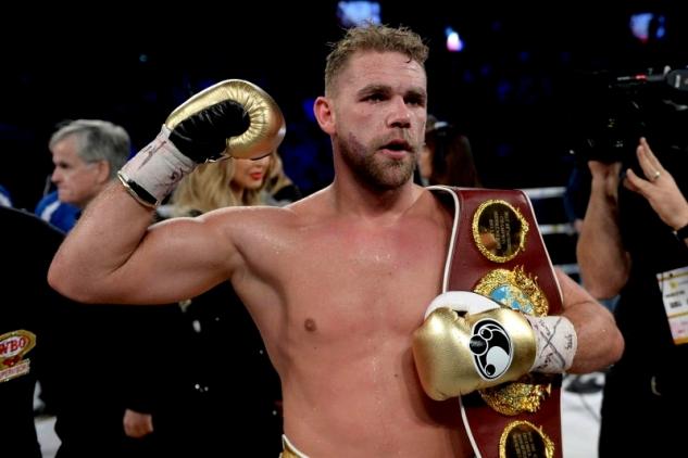 Saunders vs. Lemieux / zdroj foto: Boxingscene.com