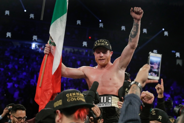 Canelo Alvarez / zdroj foto: Boxingscene.com
