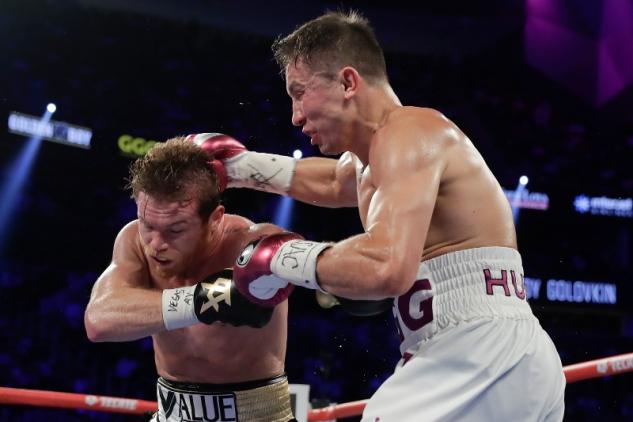 Canelo vs. Golovkin / zdroj foto: Boxingscene.com