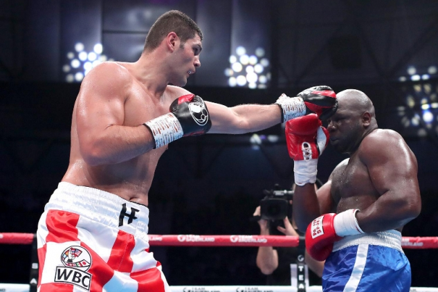 Hrgovič vs. Johnson / zdroj foto: Boxingscene.com