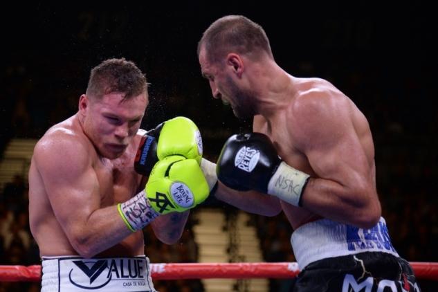 Canelo vs. Kovaljov / zdroj foto: Boxingscene.com