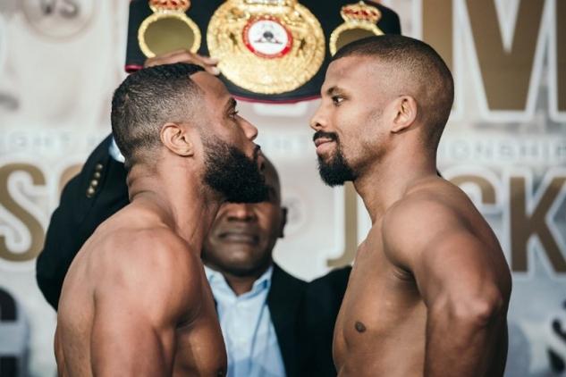 Pascal vs. Jean na vážení / zdroj foto: Boxingscene.com