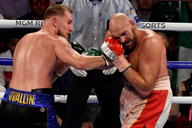 Fury vs. Wallin / zdroj foto: Boxingscene.com