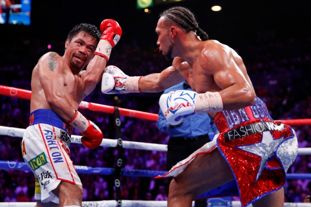 Pacquiao vs. Thurman / zdroj foto: Boxingscene.com