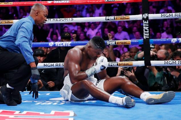Knockoutovaný Luis Ortiz