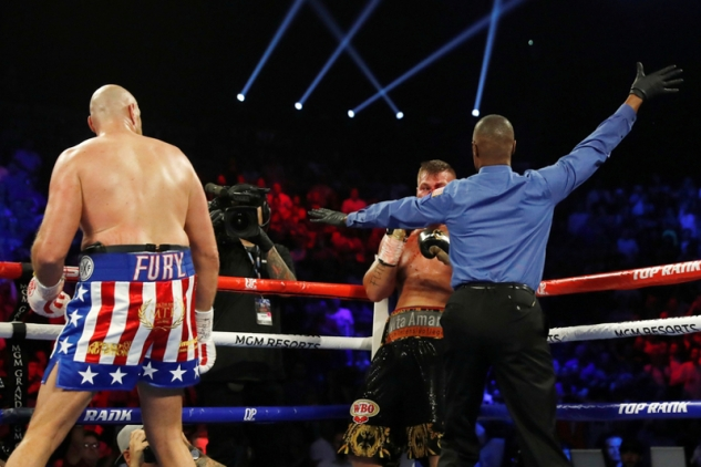 Fury vs. Schwarz / zdroj foto: Top Rank Boxing