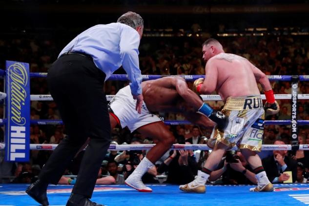 Ruiz vs. Joshua / zdroj foto: Boxingscene.com
