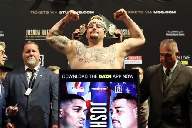 Andy Ruiz Jr. / zdroj foto: Boxingscene.com