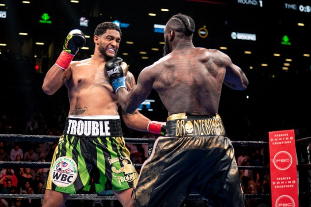 Wilder vs. Breazeale / zdroj foto: Boxingscene.com