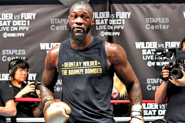 Deontay Wilder / zdroj foto: Boxingscene.com