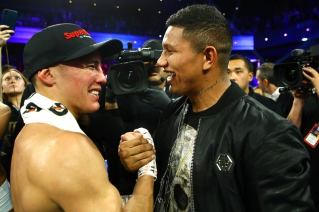 Valdez a Berchelt / zdroj foto: Top Rank Boxing