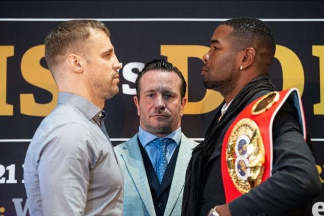 Briedis vs. Dorticos / zdroj foto: Boxingscene.com
