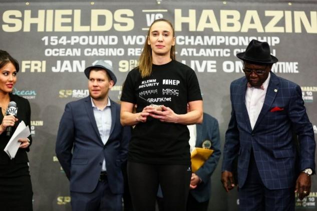 Ivana Habazinová / zdroj foto: Boxingscene.com