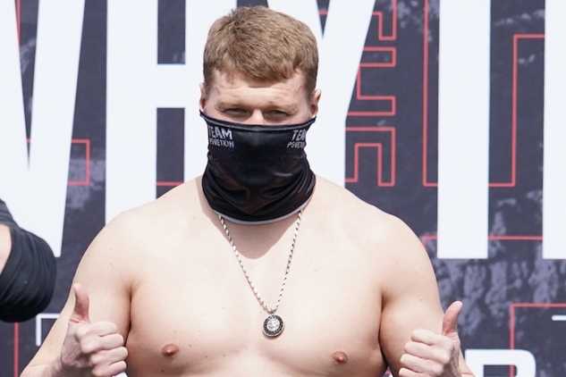 Vážení Povětkin vs. Whyte / zdroj foto: Matchroom Boxing