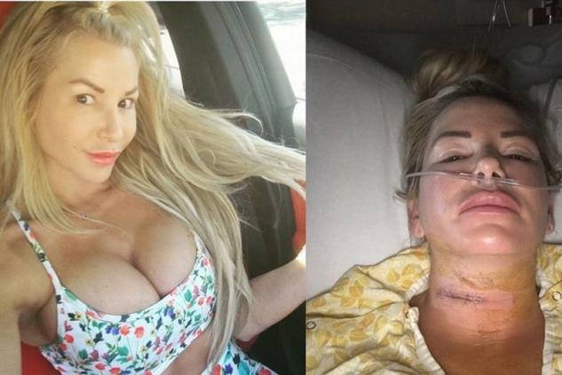 údajně napadená žena Jamie Frontzová
