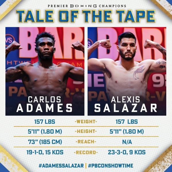 Adames a Salazar na váze
