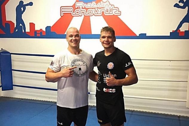 Ondřej Pála a Jirka Havel na tréninku / zdroj foto: Instagram