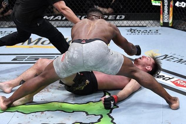 Ngannou vs. Miocic / zdroj foto: Sherdog.com