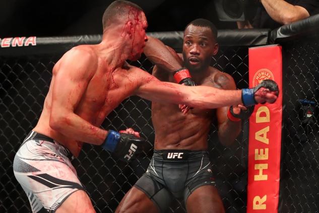Edwards vs. Diaz / zdroj foto: MMAjunkie