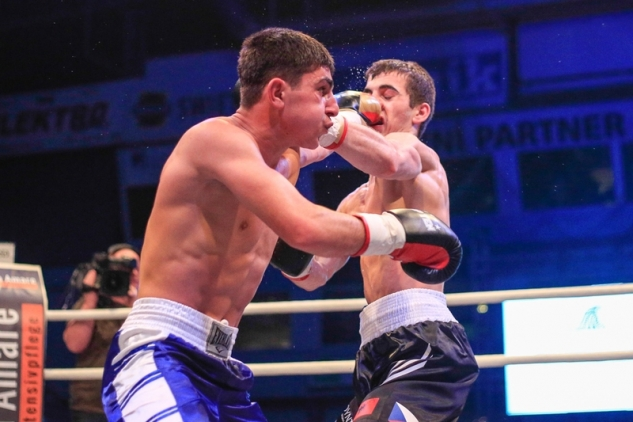 Sebastian Bytyqi vs. Nugzar Čavčavadze / zdroj foto: Tomáš Liška, www.tomasliska.cza