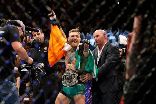 Conor McGregor chce boxovat. S Floydem Mayweatherem