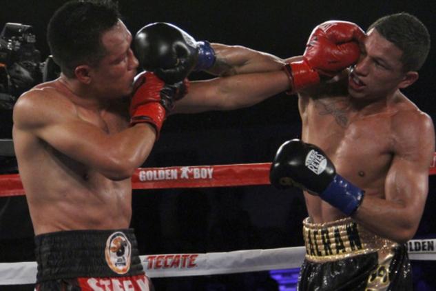 Berchelt vs. Vargas / zdroj foto: GBP