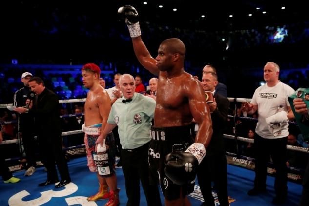 Dubois vs Fujimoto / zdroj foto: Boxingscene.com