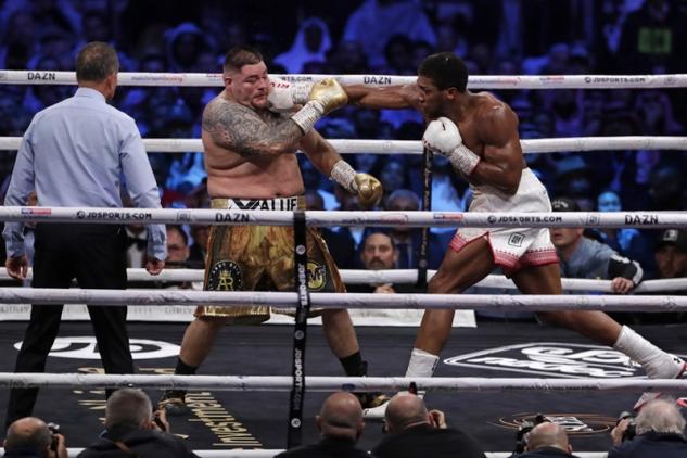 Joshua vs. Ruiz Jr. / zdroj foto: Boxingscene.com