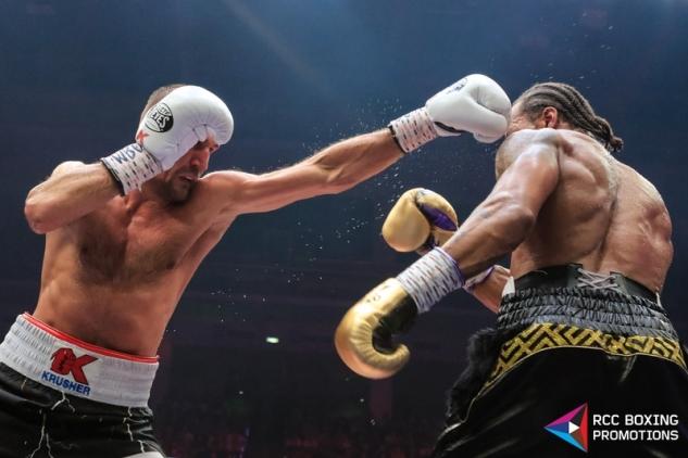 Kovaljov vs. Yarde / zdroj foto: RCC Boxing