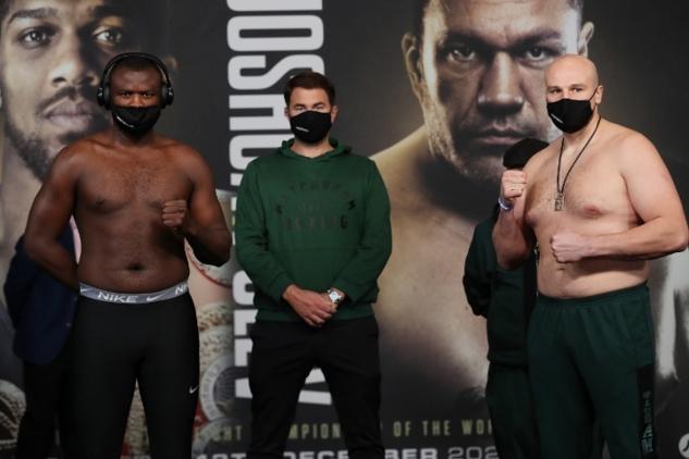 Bakole vs. Kuzmin na váze / zdroj foto: Boxingscene.com