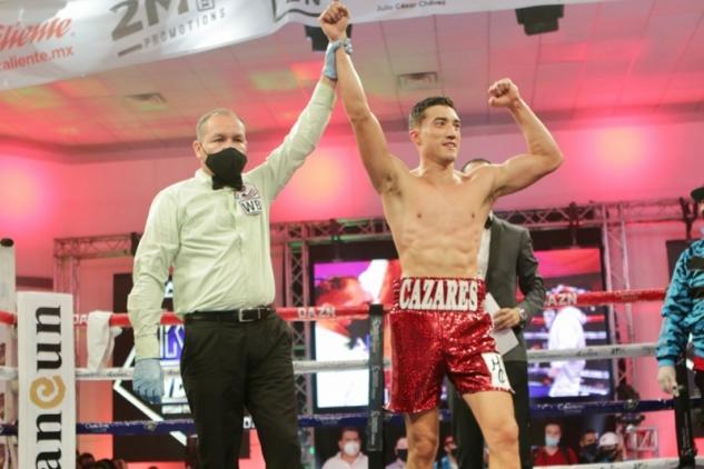 Chavez Jr. vs Cazares / zdroj foto: Boxingscene.com