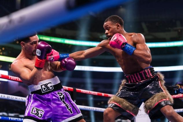 Spence vs. Garcia / zdroj foto: Boxingscene.com