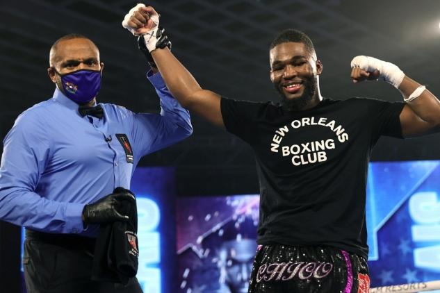 LaVallais vs. Collard / zdroj foto: Top Rank Boxing