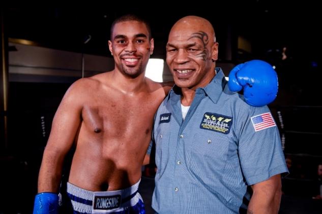 Mike Tyson s nejstarším synem