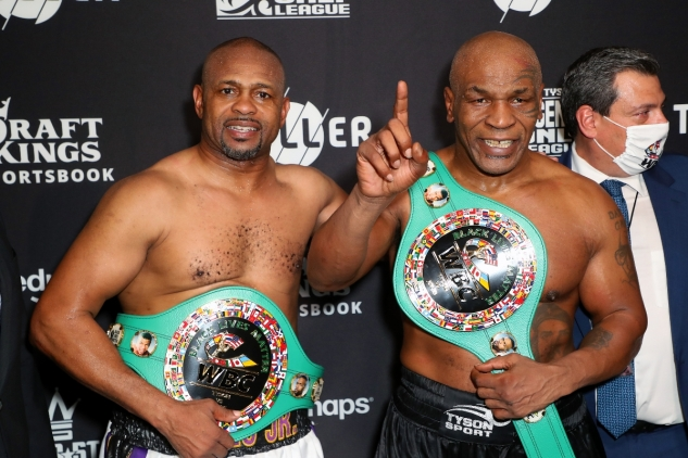 Tyson vs. Jones / zdroj foto: Triller