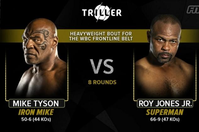Vážení Tyson vs. Jones Jr
