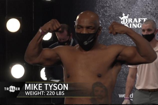 Tyson na váze