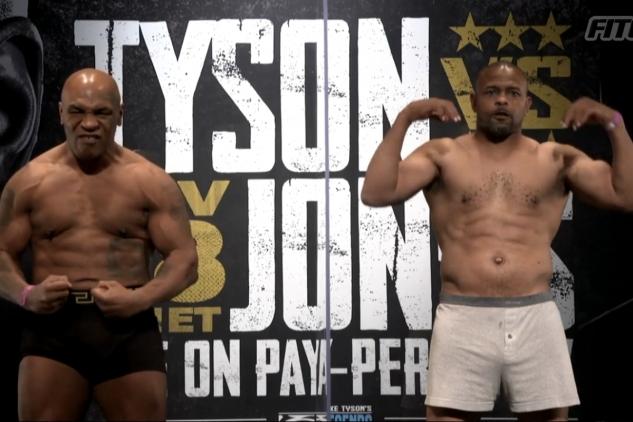 Tyson a Jones na váze