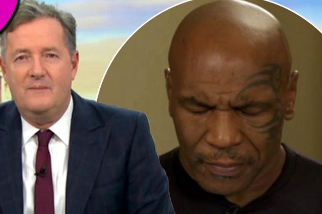 Unavený Tyson při interview