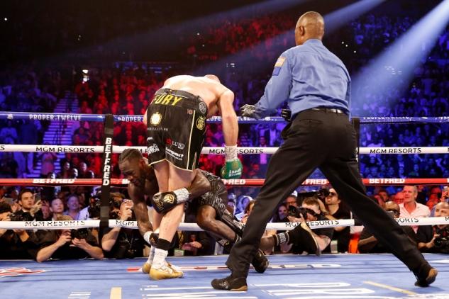 Fury vs. Wilder / zdroj foto: Boxingscene.com