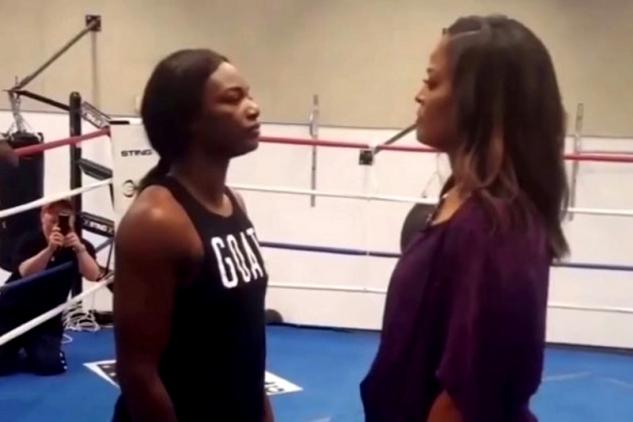 Claressa Shieldsová vs. Laila Ali