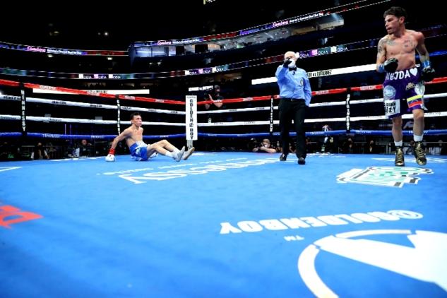 Gutierrez vs. Alvarado / zdroj foto: Boxingscene.com